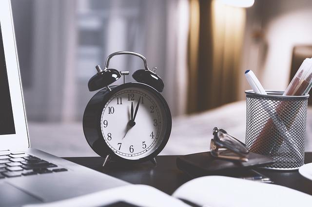 Actividades con horario