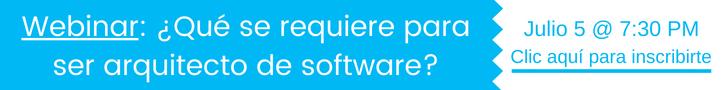 Webinar arquitectura de software