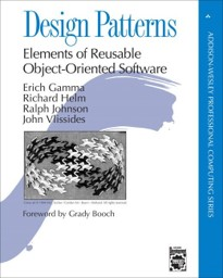 Portada de Design patterns: elements of reusable object-oriented software.