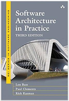 Portada de software architecture in practice, tercera edición